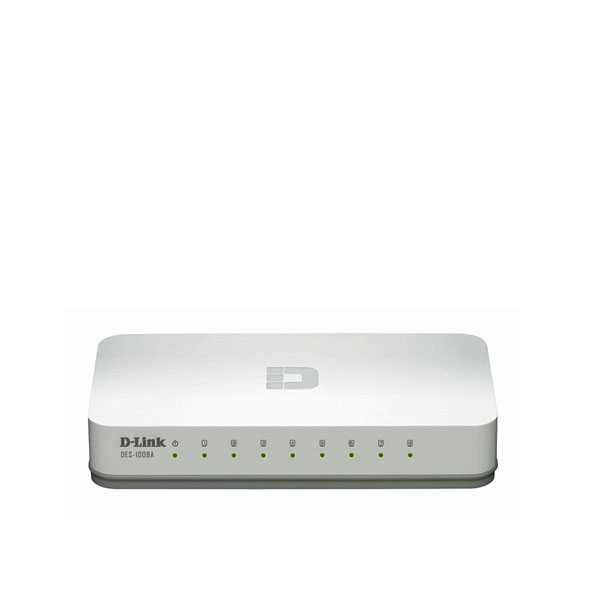 SWITCH D-LINK DES-1008A