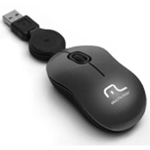 Mouse Multilaser Retratil Super Mini MO183